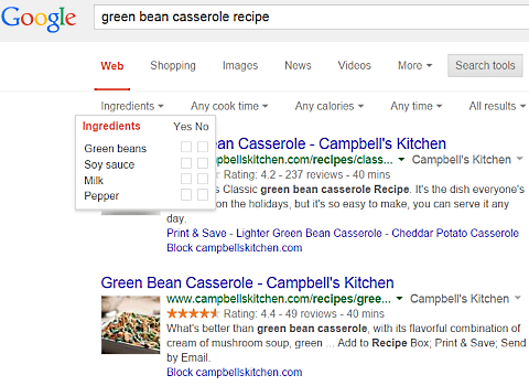 google green bean casserole 2