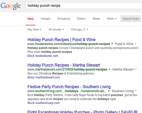 google holiday punch 2