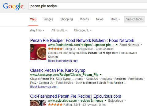 google pecan pie recipe 2