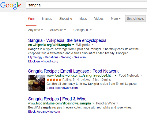 google recipes sangria 2