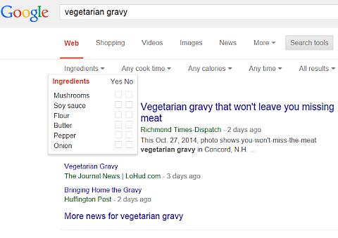 google vegetarian gravy 1