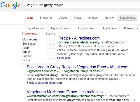 google vegetarian gravy 2