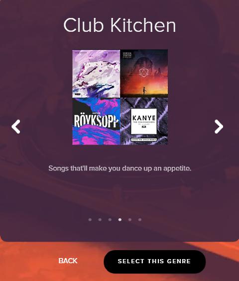 spotify turkey time club kitchen