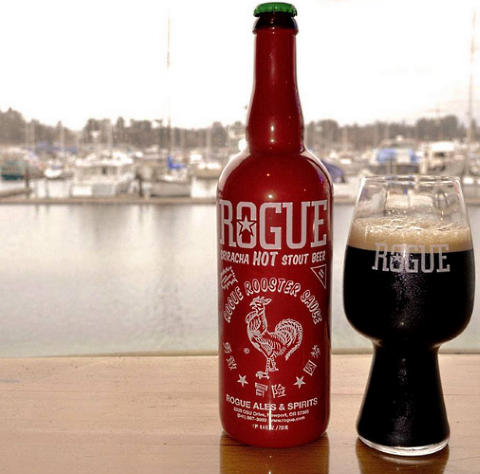 rogue sriracha hot stout glass