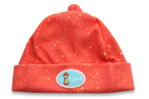 swaddle baby eggroll sweet and sour hat