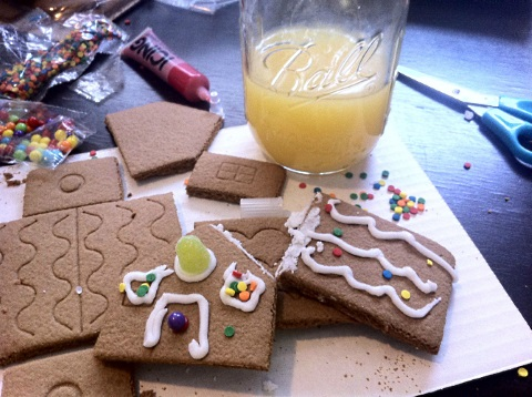 xmas struggles gingerbread mishap