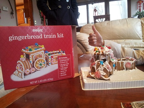 xmas struggles xmas gingerbread train