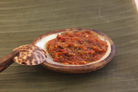 Belado Sambal Close Up