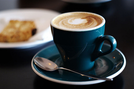 A flat white from Cuccini Cafe in New Zealand. (Photo: Flickr/ FraserElliot)