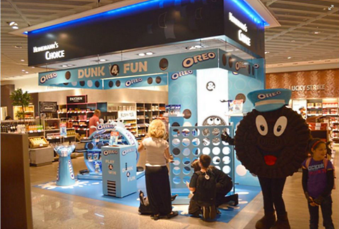 Oreos at Frankfurt Airport