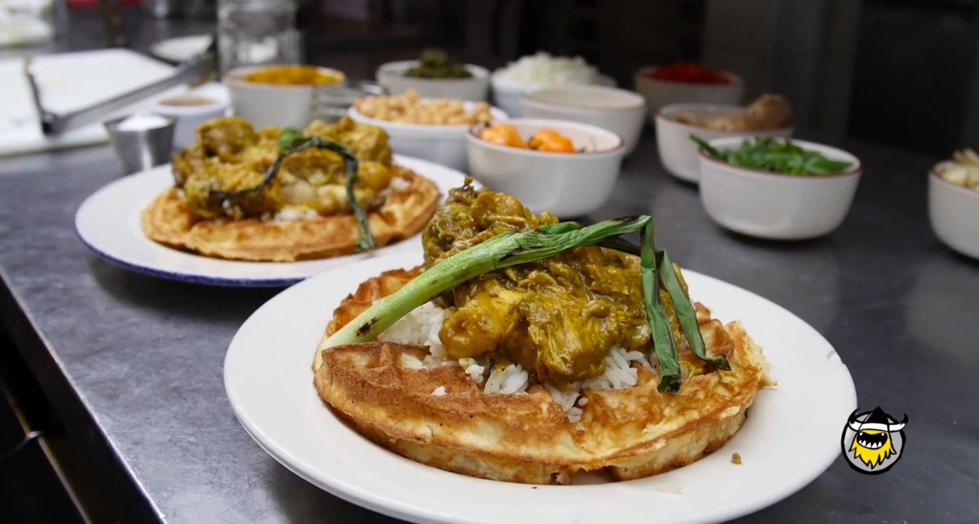 Joey Bada$$ Makes Curry Chicken and Waffles with Sweet ...