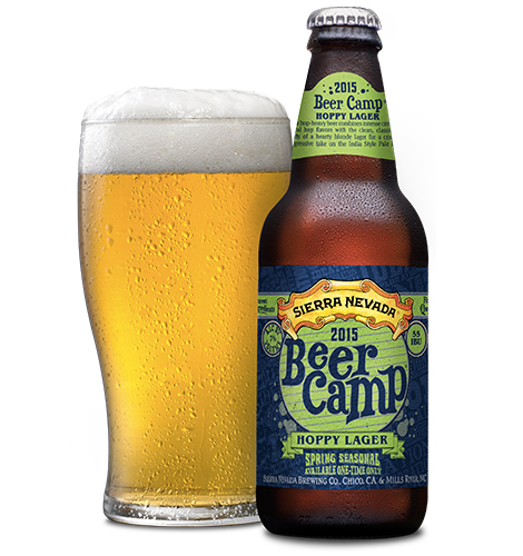 Beer Camp Hoppy Lager. (Photo: Sierra Nevada)