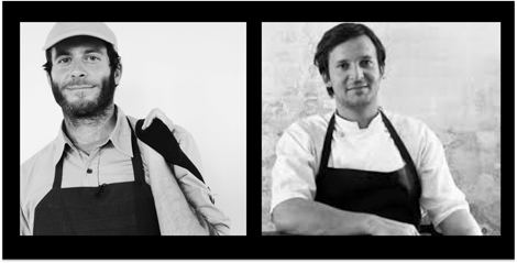Chad Robertson (Tartine Bakery) and Rene Redzepi (NOMA)