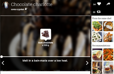 youmiam chocolate charlotte