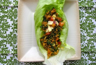 Mexican-Style Sweet and Spicy Turkey Lettuce Wraps. Make dinner a party with these spicy-sweet lettuce wraps, complete with pineapple salsa. Get the recipe.