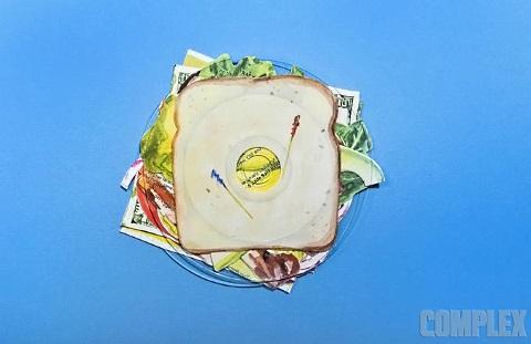 $100 sandwich 6