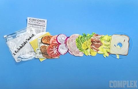 $100 sandwich 8