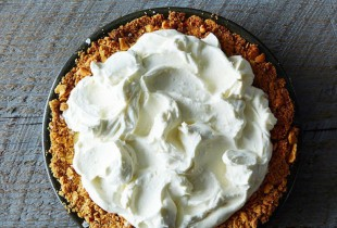 Bill Smith's Atlantic Beach Pie. Saltines impart a satisfying saltiness and crunch to this lemon bar-like pie. Get the recipe.