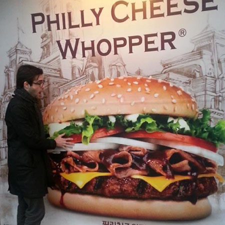 Philly Cheese Whopper