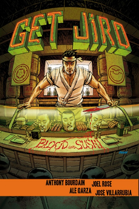 get jiro blood and sushi cover