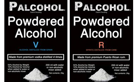 Vodka and rum Palcohol labels (Photo: Facebook/Palcohol)