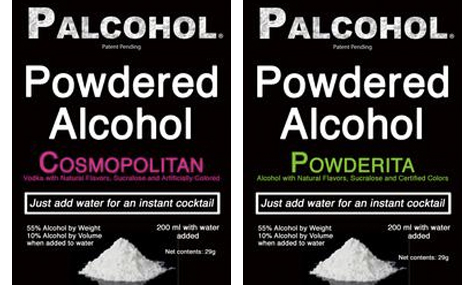 Cocktail flavor Palcohol labels (Photo: Facebook/Palcohol)