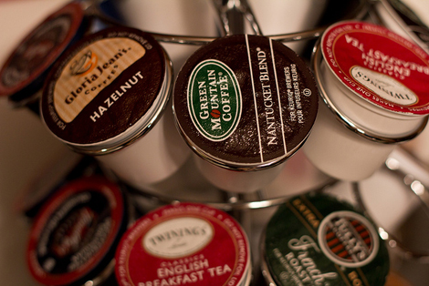Only 5% of Keurig coffee pods are recyclable. (Photo: Flickr/Patrick Gensel)