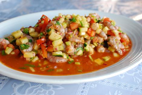 Mariscos-Chente's-Ceviche-Rojo