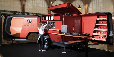 This Peugeot Food Truck Is The Rolls Royce Of Mobile