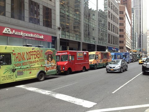 Letter Grades For Nycs Food Trucks May Soon Be On The Menu First