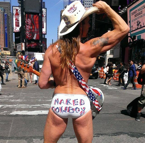 Photo: The Naked Cowboy