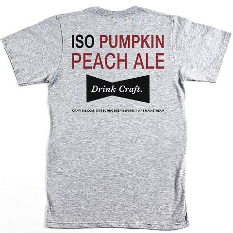 pumpkin peach ale shirt