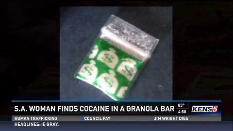 cocaine granola baggie