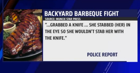 Fight Over Last Rib at BBQ Turns Violent: Woman's Eye Gouged