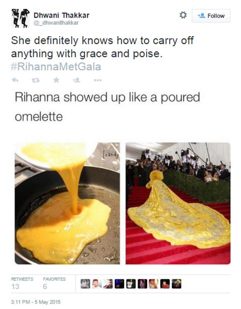 rihanna omelette 2