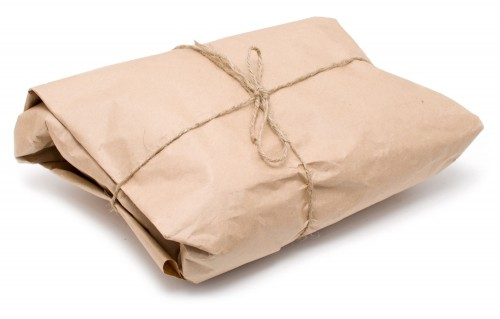 brown parcel shutterstock_50041045