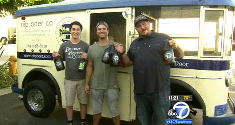 Modern Day Milkmen Make Beer Deliveries In 1931 Helms