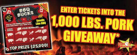 1000lb pork giveaway