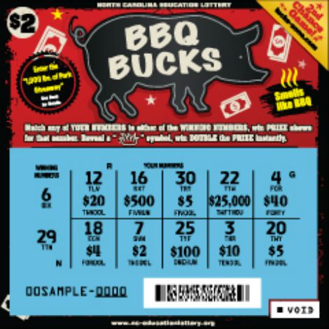bbq bucks ticket