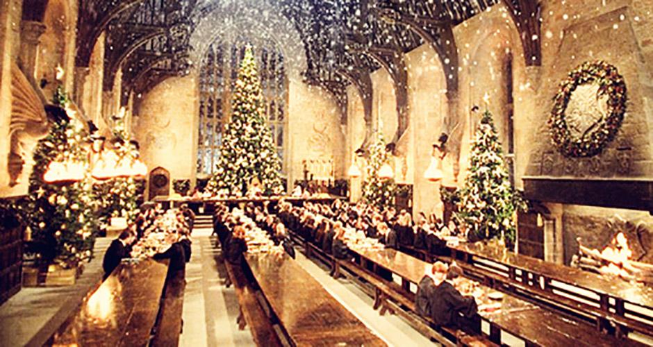 Christmas feast harry potter