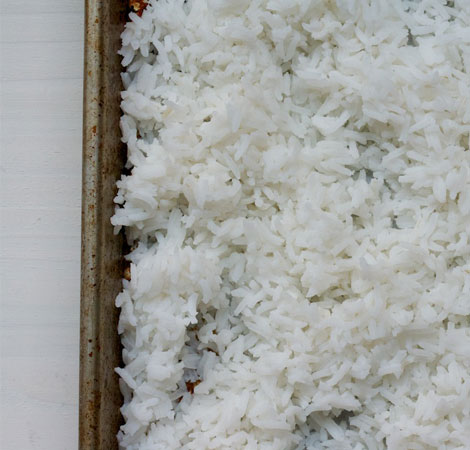 The Pilaf Method for Cooking Rice