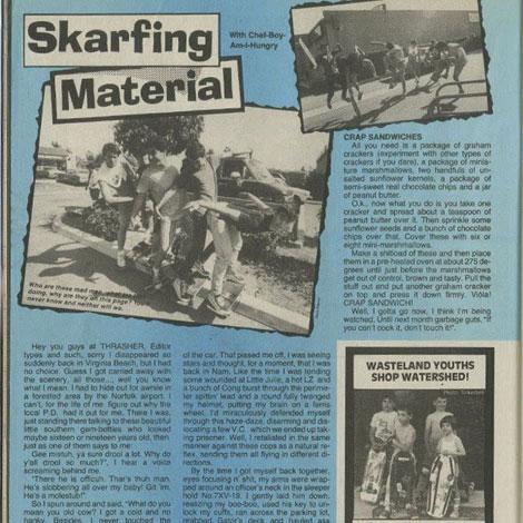 skarfing
