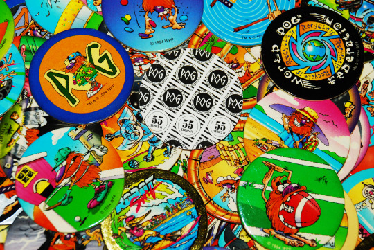 pogs and other geeky toys