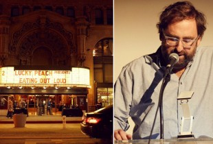 Eric Wareheim at The Million Dollar theater in L.A. (Photo: Diana King)
