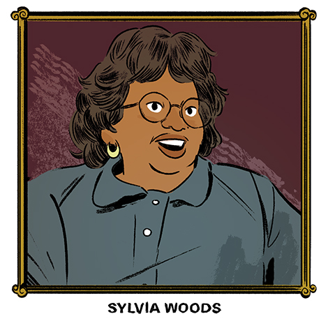 SF-Sylvia Woods